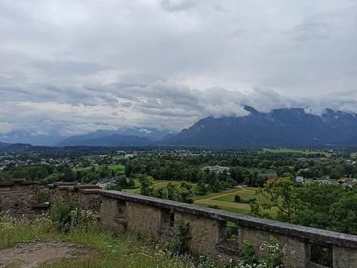 Chemin de randonnée à Salzbourg