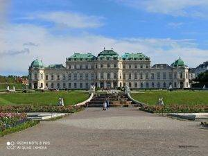 palais belvedere truc a faire a vienne week end - nous randonnons