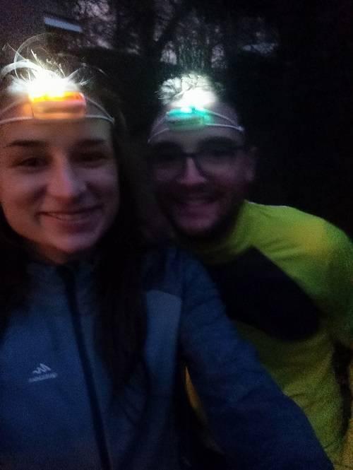 Test de la lampe randonnée frontale -- nous randonnons